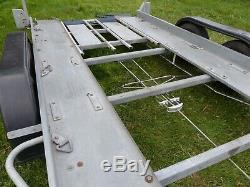 Car Transport Remorque Double Essieu. Poids Brut 2,6 KG