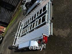 Car Transporter Bespoke / Sur Mesure / Twin Remorque Essieux Freinés