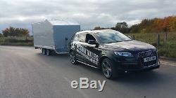 Car Transporter Remorque 3000 KG 5m X 2,2m Double Essieu Al-ko À Plat Freinée