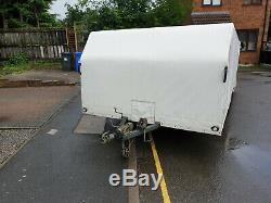 Car Transporter Remorque, Bimoteur Axle Box Remorque, Course Remorque, Transporteur De Course