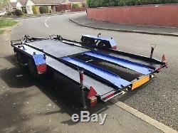 Car Transporter Remorque Double Essieu
