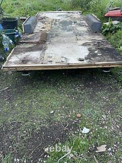 Caravan Chassis Twin Axle Trailer Projet 21 Ft X 6,5ft