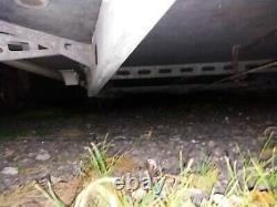 Châssis De Remorque Caravane Hobby De Rechange Ou Pour Le Stockage. Caravane Twin Axle