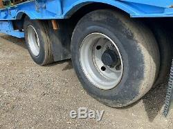 Cheiftain 25ft 19 Ton Remorque Surbaissée / Twin Axle Tracteur Surbaissé Vgc + Tva