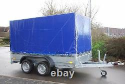 Couverture En Toile 4 Remorque De Voiture 10x5 Twin Essieu 2700kg Freiné Heavy Duty +free Trailer