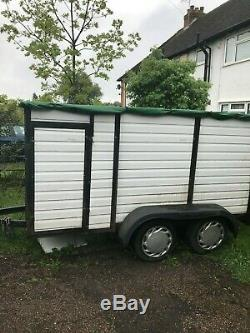Double Essieu Box Remorque (horse Box Conversion)