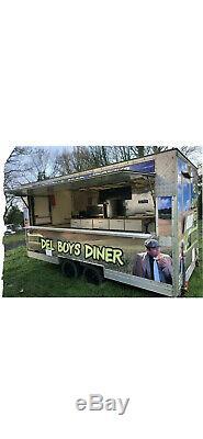 Double Essieu Mobile Burger Van Catering Alimentaire Bande-annonce