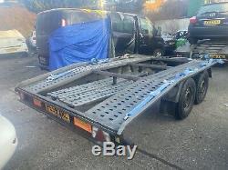 Double Essieu Voiture Transport Récupération Remorque Alko Boro 2700 KG 550 KG À Vide