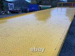 Easterby 30ft Bale Remorque Twin Axle Trailer Pour Tracteur Top Spec Vgc Plus Tva