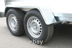 Ensemble De Box 10ft X 5ft X 5ft Axle De Twin 2700kg 3m X 1,5m Knott Suspension