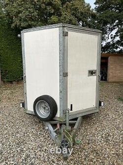 Essieu Williams Twin, Remorque Bv126 Box Charge 3500kg