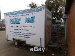 Ex Location Double Essieu Box Remorque 10 Pi X 5 Pi X 6 Pi 10