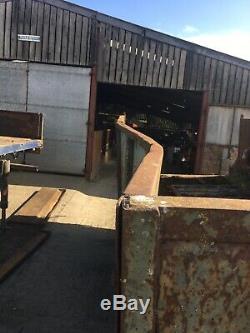 Ferme Benne Basculante Wheatley Double Double Essieu Ram Tracteur Agricole