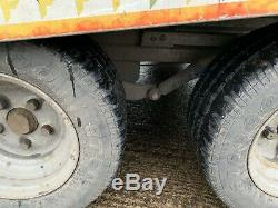 Fitzel Transporter Basculement Remorque Voiture 2700 KG Double Essieu