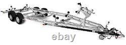 Granderup Boat Trailer 242500tb Sr 2500kg Twin Axle 23ft Boat Trailer