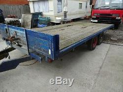 Heavy Duty Double Essieu À Plat Remorque Agricole Plante Marque Beavertail Car Transporter