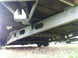 Hobby Remorque Caravane Châssis De Rechange Ou Pour Le Stockage. Twin Axle Caravane