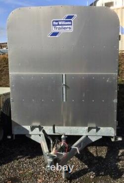 Ifor Williams 10ft X 5ft Twin Axle Cattle Trailer, Cattle Gate + Tva