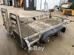 Ifor Williams 10x6 Double Essieu 3.5 Tonnes Usine Mini Digger Remorque Dumper