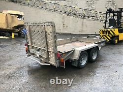 Ifor Williams 2017 Gh1054bt 3,5 Tonnes Twin Axle Plant Digger Remorque Beavertail