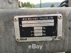 Ifor Williams Bv 84 Gta Box Remorque Arrière Portes Ramp. / Portes. Grange Twin Axle