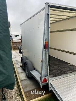 Ifor Williams Bv105g Twin Axle Box Trailer Avec Drop Down Ramp & Split Doors