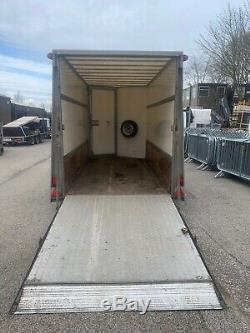 Ifor Williams Bv126g 3500kg Double Essieu 2014 Box Trailer