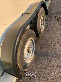 Ifor Williams Bv126g, Bimoteur Axle Box Remorque