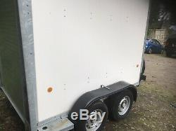 Ifor Williams Bv85g Box Remorque Double Essieu 2700 KG
