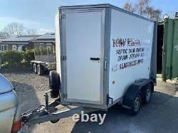 Ifor Williams Bv85g Twin Axle Box Van Trailer 2700kg