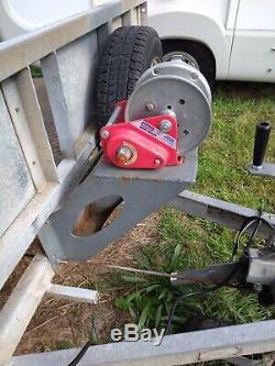 Ifor Williams Car Transporter Remorque 14ft Beaver Tail Double Essieu Remorque Plateau