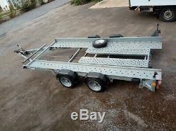 Ifor Williams Ct136hd Double Essieu Voiture Remorque Transporter 2600