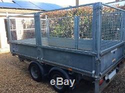 Ifor Williams Double Essieu Remorque 2700 KG Cage Lm105g (10ftx 5ft6), Couverture