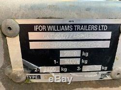 Ifor Williams Gd105 Double Essieu Général Polyvalent 2700 KG
