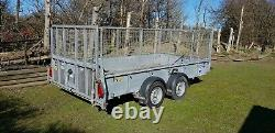Ifor Williams Gd126 12ft Twin Axle Braked Caged Trailer