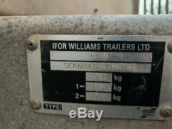 Ifor Williams Gd85mk3 Double Essieu Général Polyvalent 2700 KG