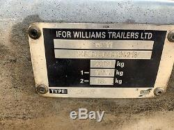 Ifor Williams Gd85mk3 Double Essieu Général Polyvalent Avec 2700 KG Mesh
