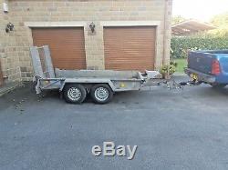 Ifor Williams Gh94 Double Essieu Beavertail Usine Remorque 9'1 2,79 Mètres Digger