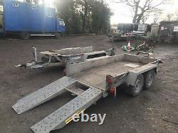 Ifor Williams Gh94bt Braked Twin Axle Plant/machinery Trailer, 9' X 4' 6 2016