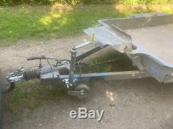Ifor Williams Gh94plant Mini Digger Trailer 2700kg Double Essieu