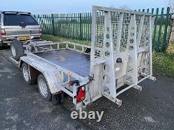 Ifor Williams Gp106g Twin Essieu Plant Trailer 3500kg 10 X 6