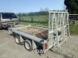 Ifor Williams Gx106 Twin Axle Plant Remorque 3500kg