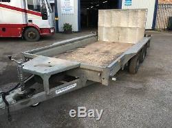 Ifor Williams Gx126 3.5 Tonnes, Essieu Jumelé, Remorque