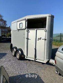 Ifor Williams Hb403 Twin Axle Single Horse Box Trailer 1600kg