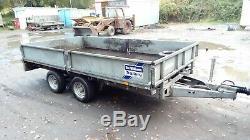 Ifor Williams Lm126g 12ft Double Essieu Remorque Plante 3500 KG
