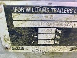 Ifor Williams Lm126g Double Essieu À Usage Général Plat Remorque 3500 KG (12x6)