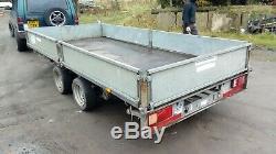 Ifor Williams Lm146g Double Essieu Remorque 14ft X 3500 KG 6 Pi 6 Freins Neufs Et Plancher