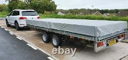 Ifor Williams Lm166g Remorque Twin Essieu 3500kg Entièrement Galvanisé Avec Dropsides