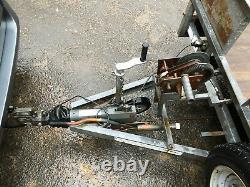 Ifor Williams Lm166g Twin Essieu 3,5 Tonnes Lit Plat Remorque 16 Pi X Treuil De 6 Pieds