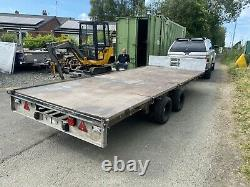 Ifor Williams Lm166g/r Remorque Plate À Essieu Double 3500kg